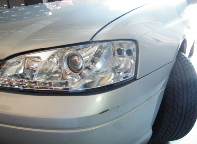Falcon BA Chrome Headlights